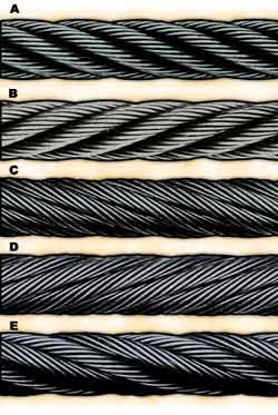 Wire rope forms an important part of many machines and structures